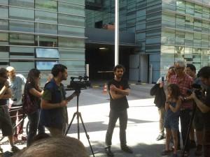 Bertran Cazorla alliberat. (Foto: @alvaromartinez)