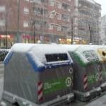 Els nous contenidors nevats. Per Alexandra