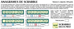 "Anagrames de Scrabble a ""la Riuada"". Número 3"