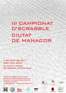 3r Campionat de Scrabble Ciutat de Manacor 2017