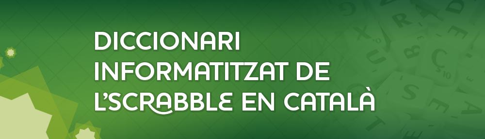 Diccionari informatitzat de l'Scrabble en Català
