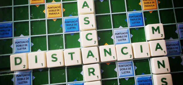 Reprenem les trobades de Scrabble dels dilluns a Amics d'El Prat