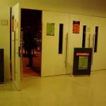 L'entrada a la sala d'espectacles