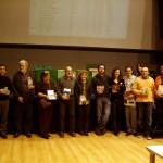 Fotografia de família de tots els premiats
